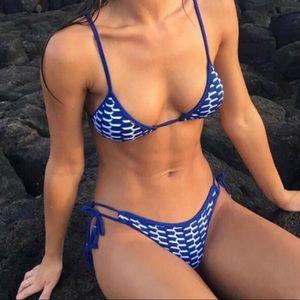 🆕 Cut Out Navy Blue Two Piece Bikini